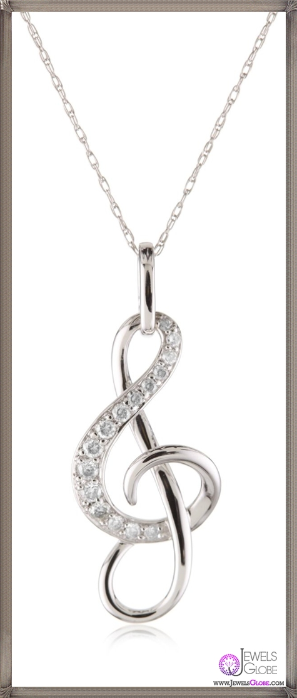 Kobelli-Diamond-Musical-Note-Pendant-Necklace Kobelli Jewelry and its Best STYLISH 31 Designs