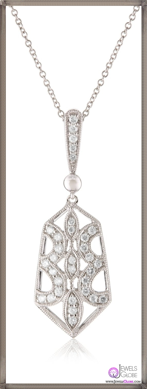 Kobelli-Large-Round-Diamond-Pendant-Necklace Kobelli Jewelry and its Best STYLISH 31 Designs