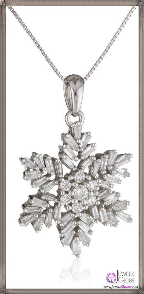 Kobelli-Neige-Round-Diamond-Fashion-Pendant-Necklace Kobelli Jewelry and its Best STYLISH 31 Designs