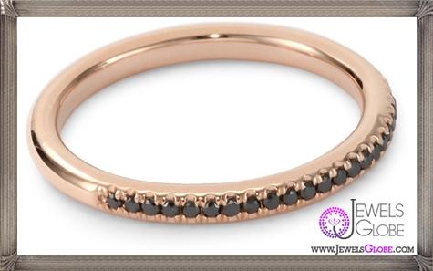 Kobelli-Noir-Rose-Gold-Round-Black-Diamond-Band Kobelli Jewelry and its Best STYLISH 31 Designs