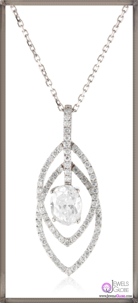 Kobelli-Oval-and-Round-Diamond-Pendant-Necklace Kobelli Jewelry and its Best STYLISH 31 Designs