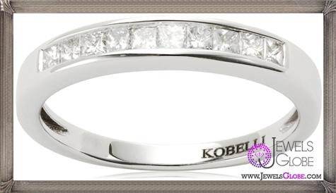 Kobelli-Princess-Cut-Diamond-Wedding-Band Kobelli Jewelry and its Best STYLISH 31 Designs