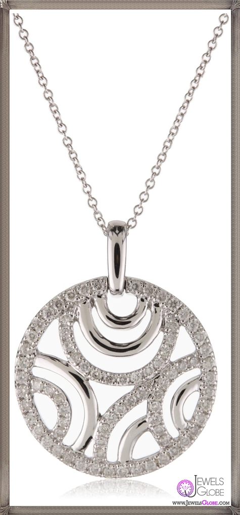 Kobelli-Round-Diamond-Pendant-Necklace Kobelli Jewelry and its Best STYLISH 31 Designs