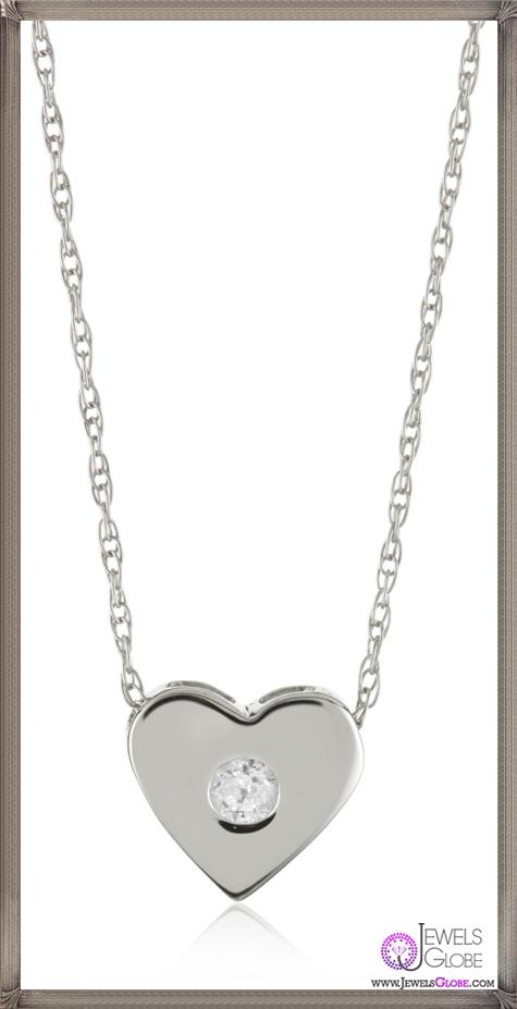 Kobelli-Small-Diamond-Heart-Shaped-Pendant-Necklace Kobelli Jewelry and its Best STYLISH 31 Designs