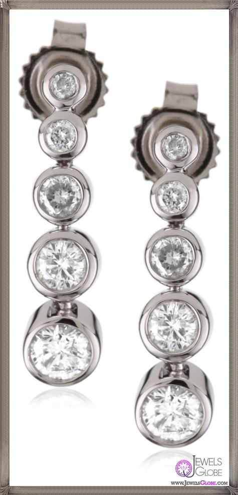 Kobelli-Small-Round-Diamond-Fashion-Earrings Kobelli Jewelry and its Best STYLISH 31 Designs