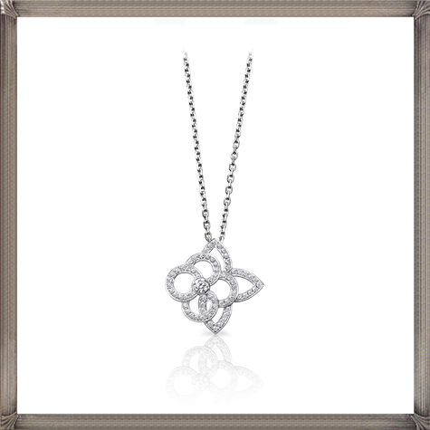 Louis-Vuitton-Cœur-long-necklace-in-pink-gold The 13 Most Stylish White Gold Necklaces For Women and Choice TIPS