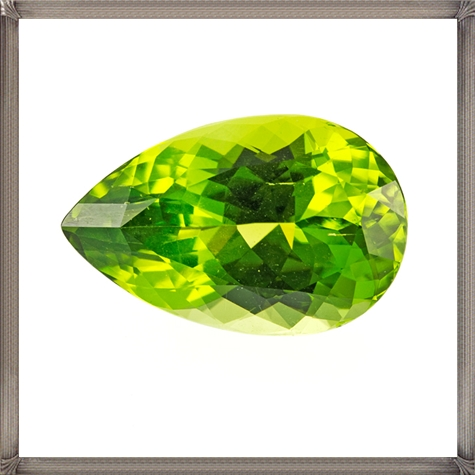 Lovely-in-colour-this-pear-shaped-Peridot-gemstone Steps To Take When Buying Loose Gemstones