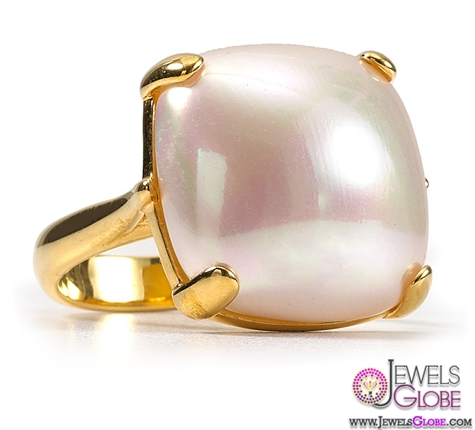 Majorica-white-pearl-cocktail-ring Top Pearl Rings For Sale