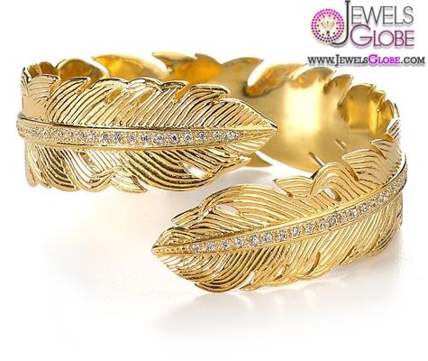 Melinda-Maria-Feather-Cuff-Bracelet-for-Women 35 Hot Cuff Bracelets For Women