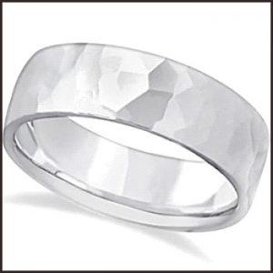 Mens-Hammered-Carved-Band-Wedding-Ring--300x300 Men's Hammered Wedding Bands: Choose Best Designs