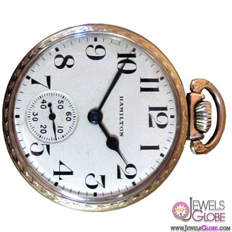 Mens-Pocket-Watch-Antique-Hamilton-Railroad-Pocket-For-Men Latest pocket watches for men (HOT Styles)