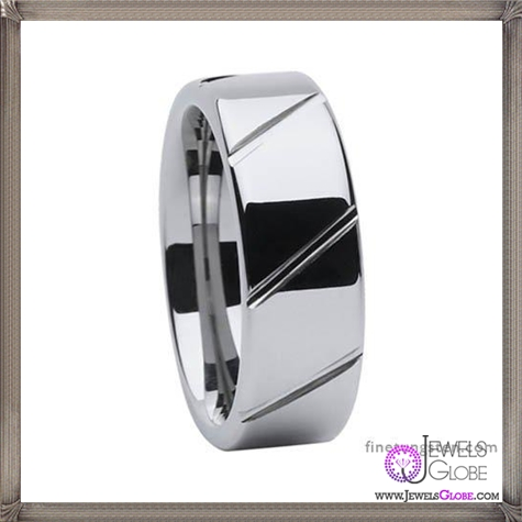 Mens-Tungsten-Rings-Non-Piercing-Excellent-Jewelry-Tungsten-Rings 5 CRITICAL Tips Before Buying Cheap Men's Jewelry PLUS Most Popular Designs