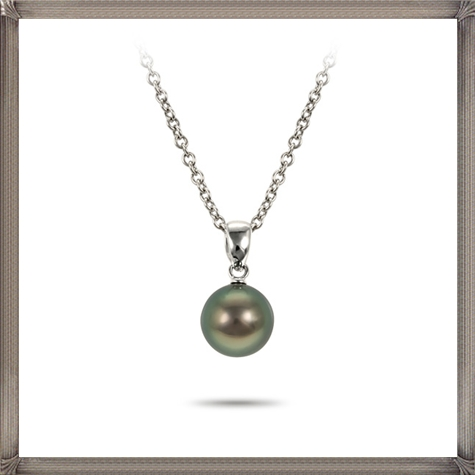 Mikimoto-18-karat-white-gold-and-black-pearl-necklace The 15 GREATEST Mikimoto Pearl Necklaces