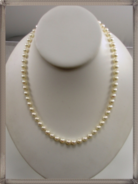 Mikimoto-6mm-Pearl-Necklace-18-Traditional-Length-18K-Yellow-Gold-Hook The 15 GREATEST Mikimoto Pearl Necklaces