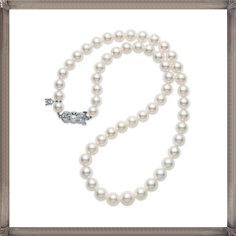 Mikimoto-Core-Akoya-Pearl-Strand-Necklace-and-Studs The 15 GREATEST Mikimoto Pearl Necklaces