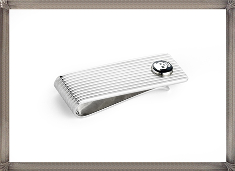 Money-Clip-Silver-Engine-Turned-with-Enamel-Skull The 15 Most Popular Sterling Silver Money Clips