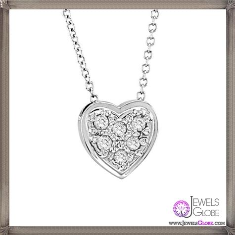 Morris-David-Diamond-Heart-Necklace The 28 Best Diamond Heart Necklaces & Pendants For Women and Buying TIPS