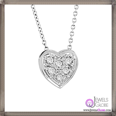 Morris-David-Diamond-Heart-Necklace The 28 Best Diamond Heart Necklaces & Pendants For Women and Buying TIPS