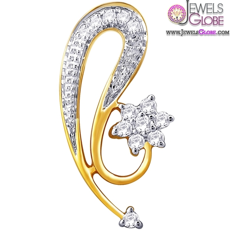 Nakshatra-18-K-Gold-Pendant-Skillful-women-design The 29 Most Popular Gold Pendant Designs For Women