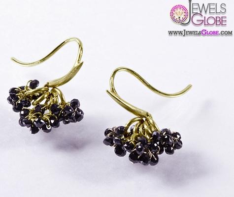 New-Style-Black-Diamond-Earrings-for-Women Latest Fashion Black Diamond Earrings For Women