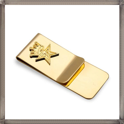 Obey-Star-Crown-Money-Clip-Gold The 25 Most Popular Gold Money Clip Designs