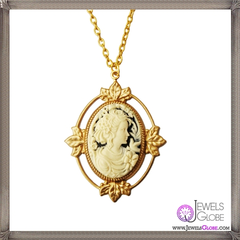 Oralia-Cameo-Necklace The 13 Most Stylish Cheap Cameo Necklaces