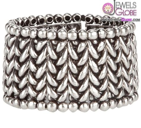 Philippe-Audibert-Herringbone-cuff-bracelet 35 Hot Cuff Bracelets For Women