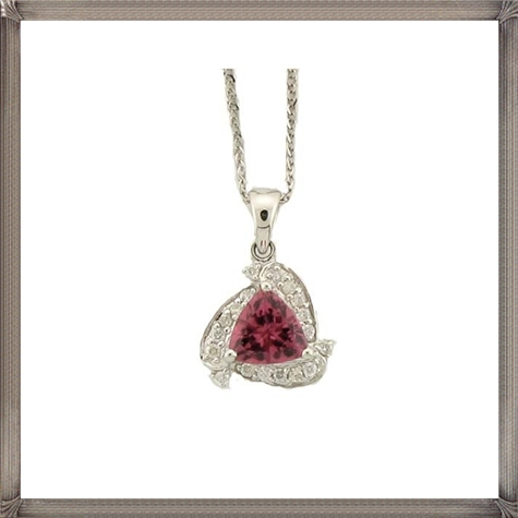 Pink-Topaz-Diamond-Necklace How to Choose and Buy Most STYLISH Pink Diamond Necklace Designs