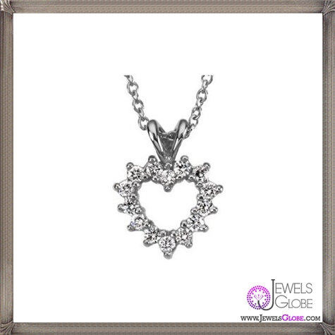 Platinum-Diamond-Heart-Necklace The 28 Best Diamond Heart Necklaces & Pendants For Women and Buying TIPS