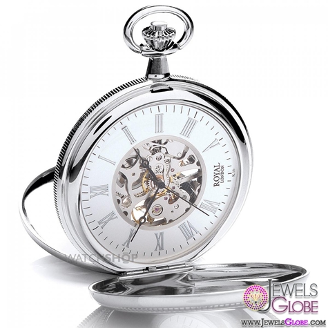 ROYAL-LONDON-POCKET-HALF-HUNTER-POCKET-WATCH-For-Men Latest pocket watches for men (HOT Styles)