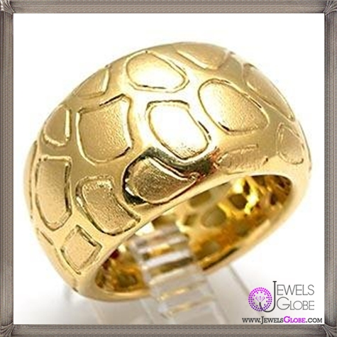 Robert-Coin-Giraffe-Motif-Wide-Band-Cocktail-Ring-Solid-18k-Gold 23 Best Roberto Coin Rings Designs