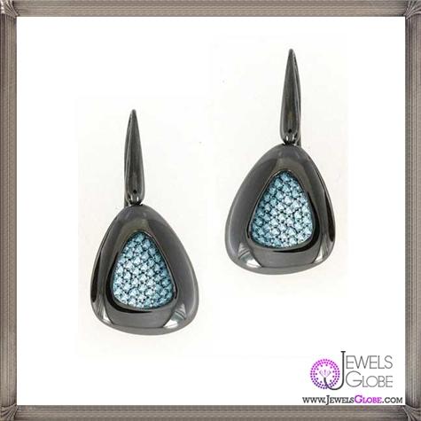 Roberto-Coin-CapriPlus-Blue-Topaz-Earrings Best 18 Roberto Coin Earrings Designs