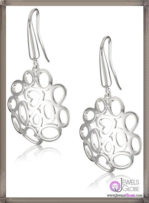 Roberto-Coin-Fifth-Season-Silver-Mauresque-Earrings Best 18 Roberto Coin Earrings Designs