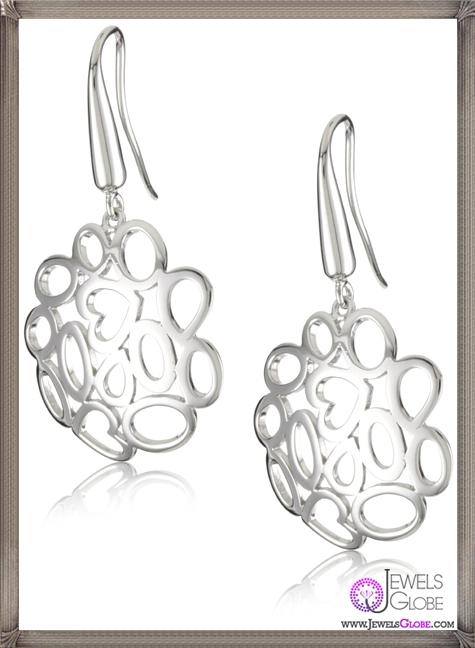 Roberto-Coin-Fifth-Season-Silver-Mauresque-Earrings Best 18 Roberto Coin Earrings Designs