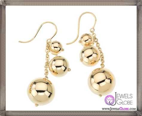 Roberto-Coin-Pallini-Tripple-Ball-Earrings.-Three-Ball-Design Best 18 Roberto Coin Earrings Designs