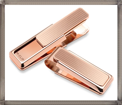 Rose-Gold-Money-Clip The 25 Most Popular Gold Money Clip Designs