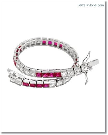 Ruby-Diamond-Tennis-Bracelet-designs The 16 Top Ruby Tennis Bracelet Designs