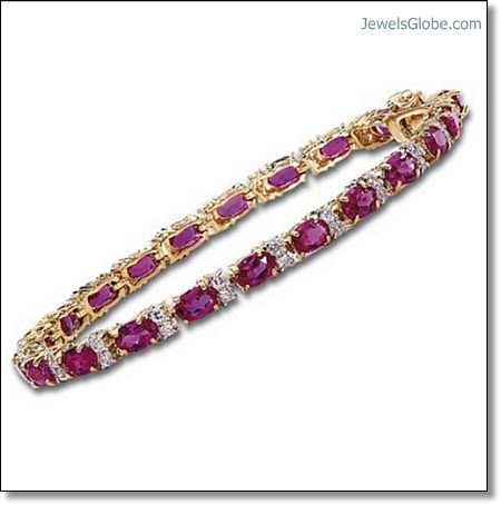 Ruby-and-CZ-Tennis-Bracelet The 16 Top Ruby Tennis Bracelet Designs