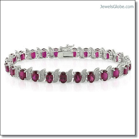 Ruby-and-Diamond-Tennis-Bracelet-designs The 16 Top Ruby Tennis Bracelet Designs