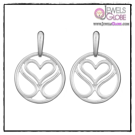 SLANE-Signature-Circle-Earrings-In-Sterling-Silver Art of Wearing Jewelry for Young Girls