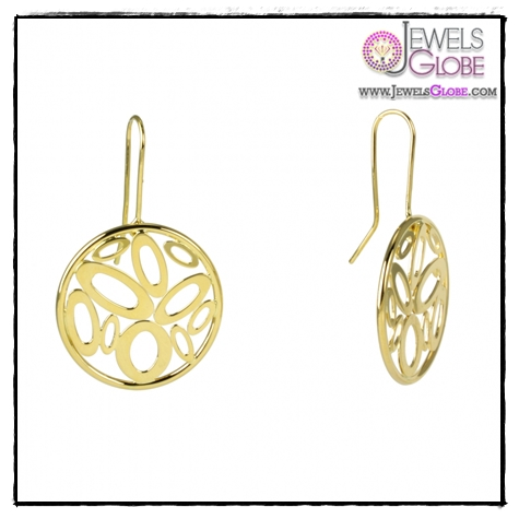 Shine-Circle-Earrings Art of Wearing Jewelry for Young Girls