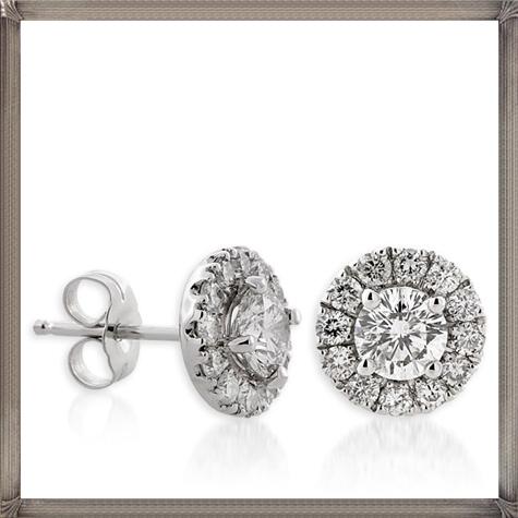 Signature-Diamond-Earrings Latest Signature Diamond Earrings For Women