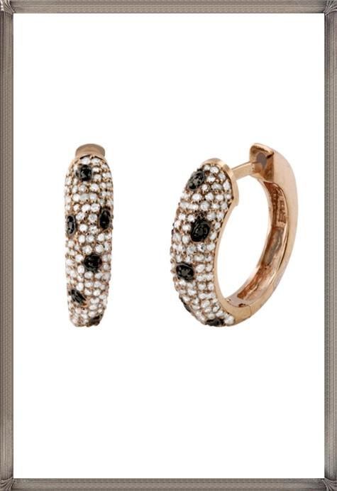 Signature-Rose-Gold-Diamond-Earrings Latest Signature Diamond Earrings For Women
