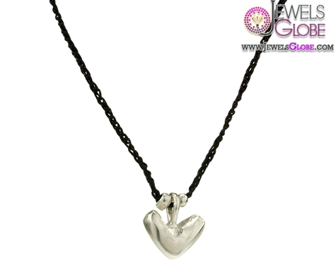 Silver-Baby-Heart-Necklace 33 Amazing Designs Of Baby Necklaces