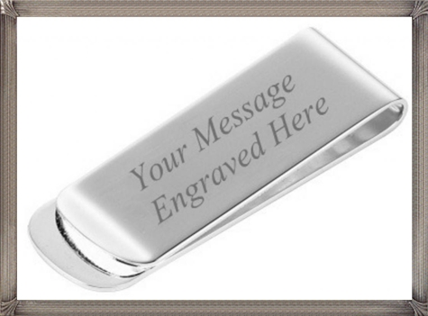 Silver-plated-engraved-money-clip-comes-in-a-handy-presentation-box The 15 Most Popular Sterling Silver Money Clips