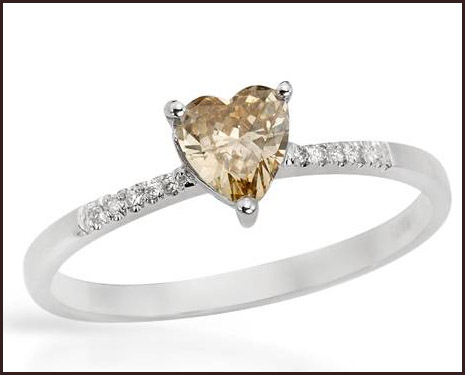 Solitaire-Plus-Ring-With-Precious-Stones-Genuine-Clean-Diamonds-Made-of-14K-White-Gold 14K White Gold Engagement Rings: Top Designs
