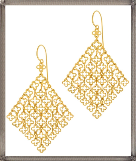 Statement-gold-vermeil-Talitha-drop-earrings-from-the-Dinny-Hall-collection Latest Gold Earrings Designs 2019