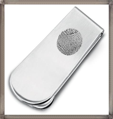 Sterling-Silver-Fingerprint-Money-Clip The 15 Most Popular Sterling Silver Money Clips for 2019