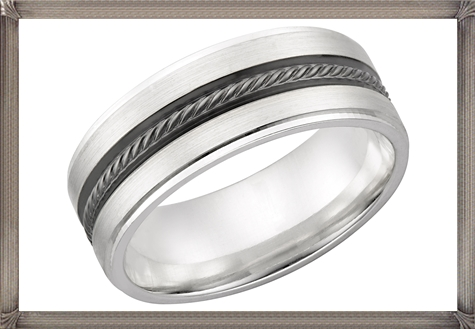 Sterling-Silver-Mens-Wedding-Band 5 CRITICAL Tips You Should Keep in Mind When Buying Men's Silver Wedding Bands