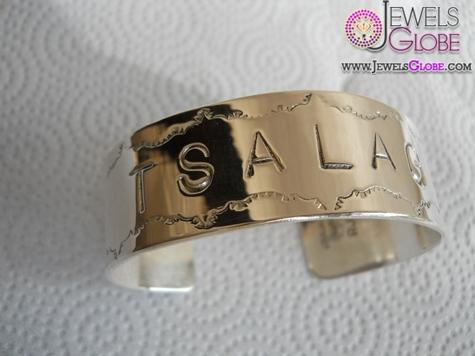Sterling-Silver-Name-Cuff-Bracelet-women-Custom-design 35 Hot Cuff Bracelets For Women